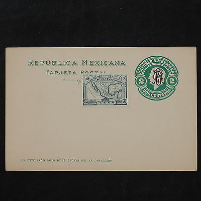 ZS-W158 MEXICO - Entire, Great Franking Airmail Postcard