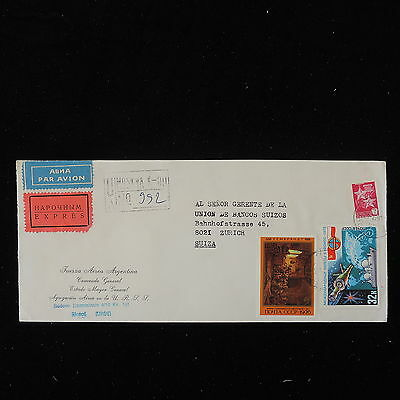 ZS-Y671 RUSSIA - Registered, Airmail To Switzerland Cover