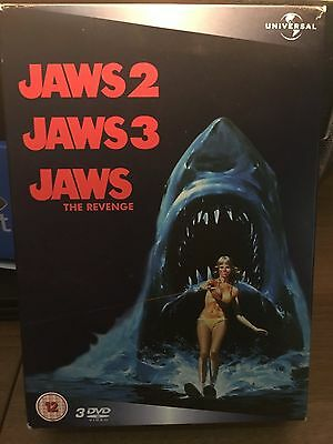 DVD Jaws Revenge, Jaws 2 and Jaws 3 Box set