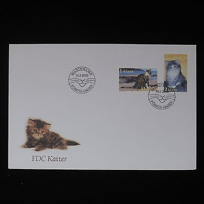 ZS-Z403 ALAND - Cats, 2003 Fdc Cover