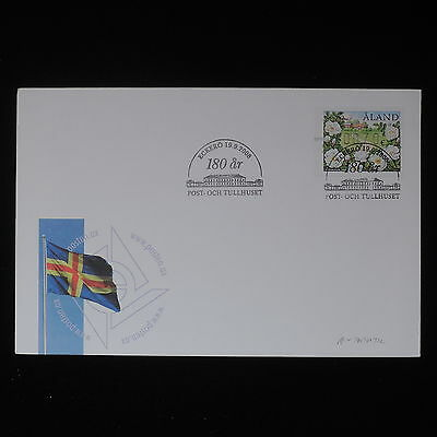 ZS-Z419 ALAND - Fdc, 2008 Flags, Automatic Stamps Cover