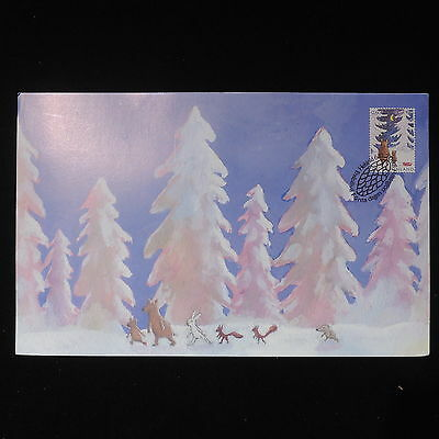 ZS-Z446 FINLAND - Maximum Card, 2008 Fdc, Animals, Paintings Cover