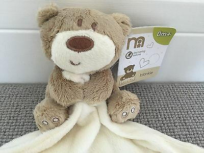 Mothercare Loved So Much Blankie Comforter Baby Soft Toy New With Tag