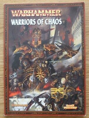Warhammer Armies Warriors of Chaos - Games Workshop Book