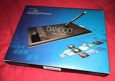 Wacom Bamboo Pen & Touch Graphics Tablet — Amazing Condition, Original Box, Nibs