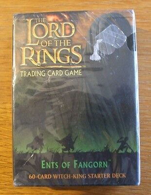 Lord Of The Rings Tcg - Ents Of Fangorn - Unopened Witch-King - Starter Deck