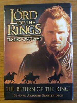 Lord Of The Rings Tcg Return Of The King - Aragon - Starter Deck