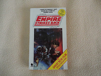 Star Wars.The Empire Strikes Back.Donald Glut/George Lucas novel 1980