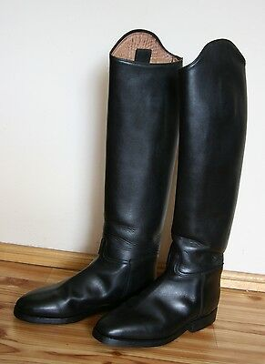 KONIGS LEATHER dressage boots size EU 39 / perfect condition!! NARROW