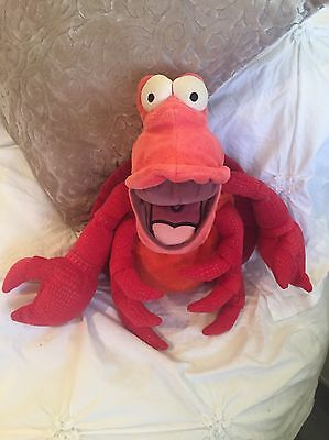 Disney Sebastian Soft Cuddly The Little Mermaid Teddy Collectible Party Prop