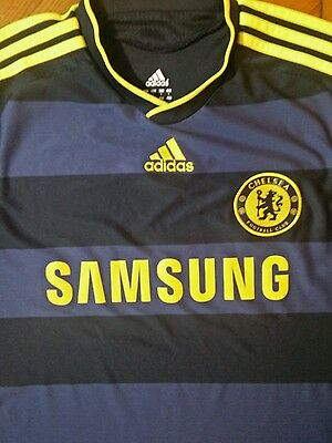 Adidas Chelsea Football Shirt Size L Excellent Condition