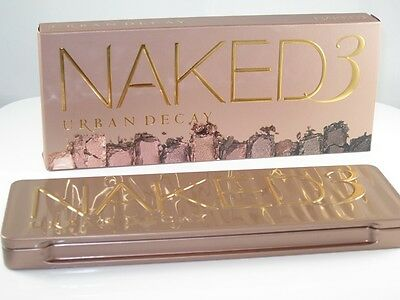 Naked 3 - 12 Colour Palette Professional Makeup Eye Shadow Free Post