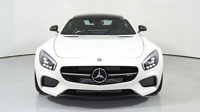 2016 Mercedes-Benz AMG GT Mercedes-AMG GT S 2dr Coupe 2016 Mercedes Benz AMG GTS, White/Black, 340 Miles, Gorgeous!!!