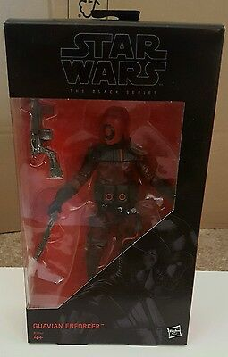 """Star Wars The Black Series Guavian Enforcer The Force Awakens 6"""" Action Figure"""