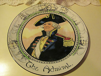 Royal Doulton Character Plate The Admiral