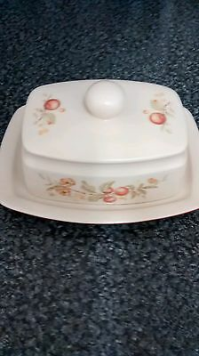 Butter Dish Country Blossom by M & S