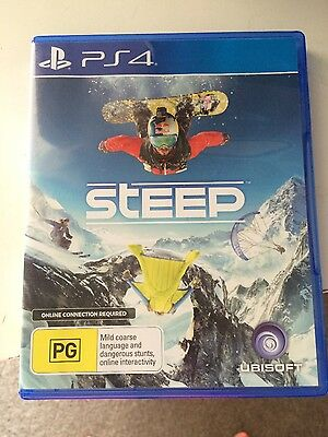 Steep PS4 Like NEW, used once!