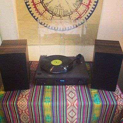 Record Player - Rega RP1 Turntable + Cambridge Amp and Speakers