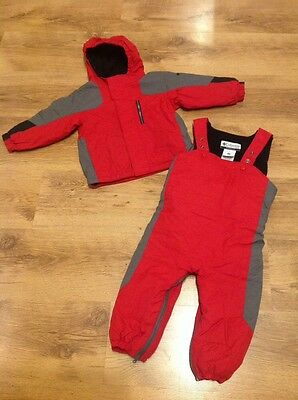 Columbia toddlers water proof ski jacket and salopettes