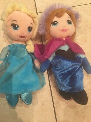 Disney Frozen Anna And Elsa 8 Inches