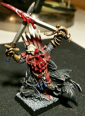 Warhammer Fantasy AOS Mordheim Vampire Counts Undead Vampire Lord Well Painted