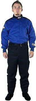 G-Force Racing 4125XLGBU GF-125 Single Layer X-Large Blue Fire Suit (SFI)
