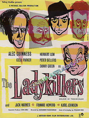 THE LADYKILLERS 1955 Trade Advert Poster ALEC GUINNESS PETER SELLERS EALING