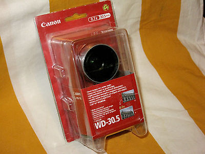Boxed Canon WD-30.5 30.5mm Wide Angle (0.7x)