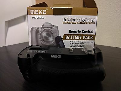 Meike MK-DR750 2.4g Wireless Control Battery Grip for Nikon D750 AS MB-D16