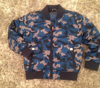 BRAND NEW Without Tags - M&S Boys Camouflage Jacket - Size 4-5 Years