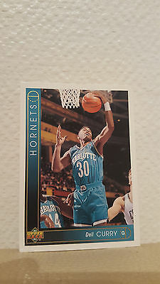 Carte Upper Deck 93/94 Dell Curry n°10