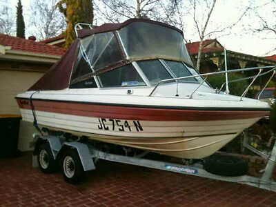 1990 SWIFTCRAFT TEMPEST 5.3m FISHING BOAT