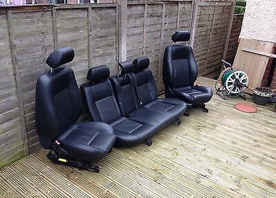 Ford Mondeo Mk3 2006 Leather Seats Heated Interior With St Door Cards 01-07