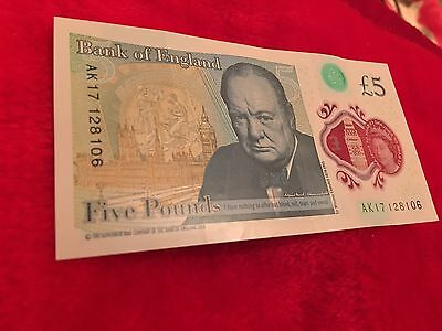 Five Pound Note New