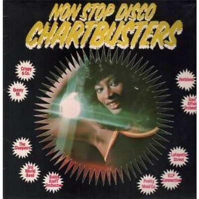 NON STOP DISCO CHARTBUSTERS Various Artists LP VINYL UK Creole 12 Track