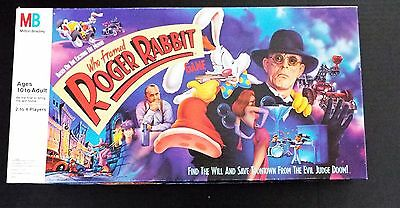 Who Framed Roger Rabbit Milton Bradley Board Game (Barely played ) 100% Complete