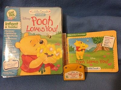 Little Touch Leap Pad Pooh Loves You!