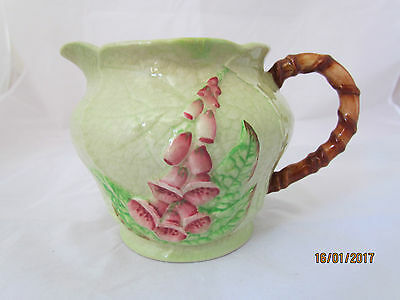 Vintage English Carlton Ware 'Foxglove' large handled jug Australian Design