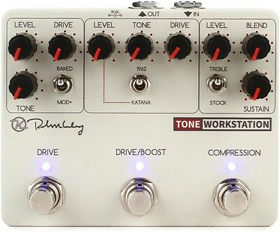 Keeley Tone Workstation - Analog Multi-effects (Open Box)