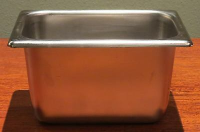"""Bloomfield 18-8 Stainless Steel 1/9 Size 4"""" Deep Steam Table Food Pans NSF"""