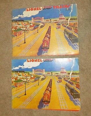 Two 1930 Reproduction Lionel Catalog