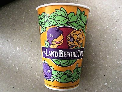The Land Before Time 1997 Burger King Paper Cup