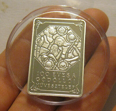 """Hungary - 2001 Silver 4000 Forint """"Sisters"""" - Scarce!"""