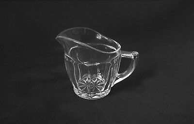 Small Cut Glass Cream Jug