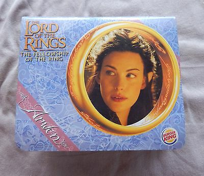 The Lord of the Rings - Fellowship of the Ring Arwen Burger King Toy 2001