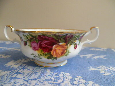 Vintage Royal Albert Made In England Old Country Roses Soup Coupe Only ,