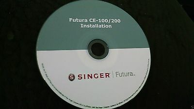 Singer Futura Installation Operating Software for the CE 100/200, 150/250/350