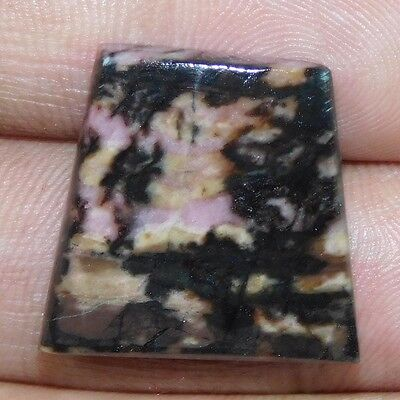 26.00 Cts. 100% NATURAL FANCY SHAPE BRILLIANT RHODONITE A+ LOOSE GEMSTONE PF042