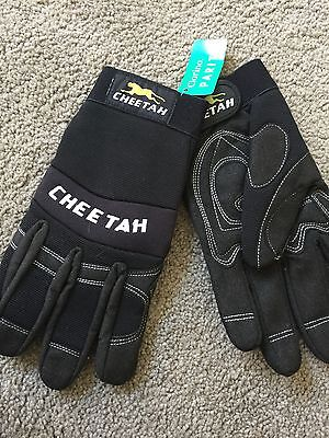 Cheetah Work Gloves New With Tags
