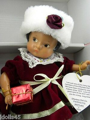 "Ashton Drake Galleries Effanbee December 8"" Doll #38472-001 6+"